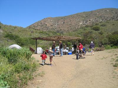 Camping Point Mugu 2009